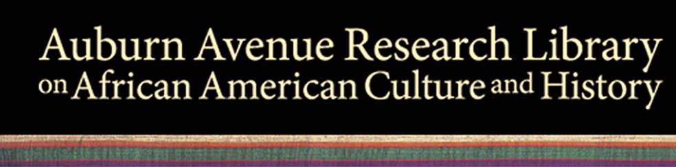 auburn avenue research library on afr amer culture and history logo