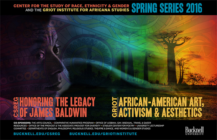 bucknell james baldwin poster