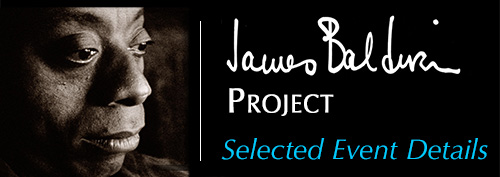 James Baldwin Project selected events
