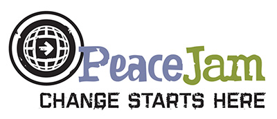 peacejam change starts here logo